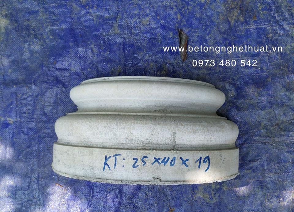 Chân cột tròn 25x40x19cm