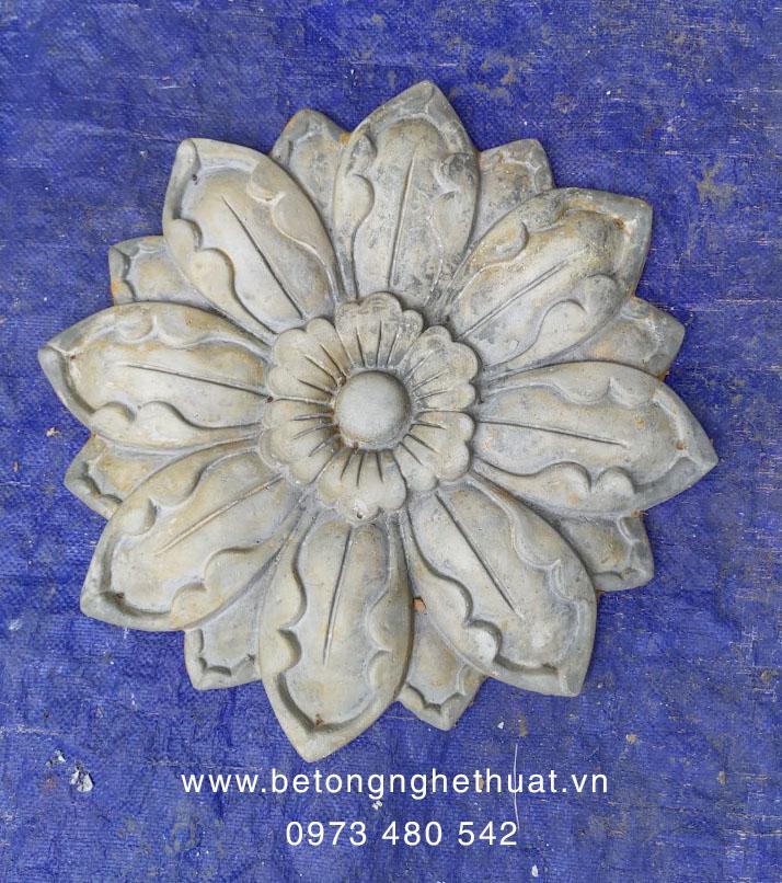 Hoa hướng dương bê tông nghệ thuật 40x40cm