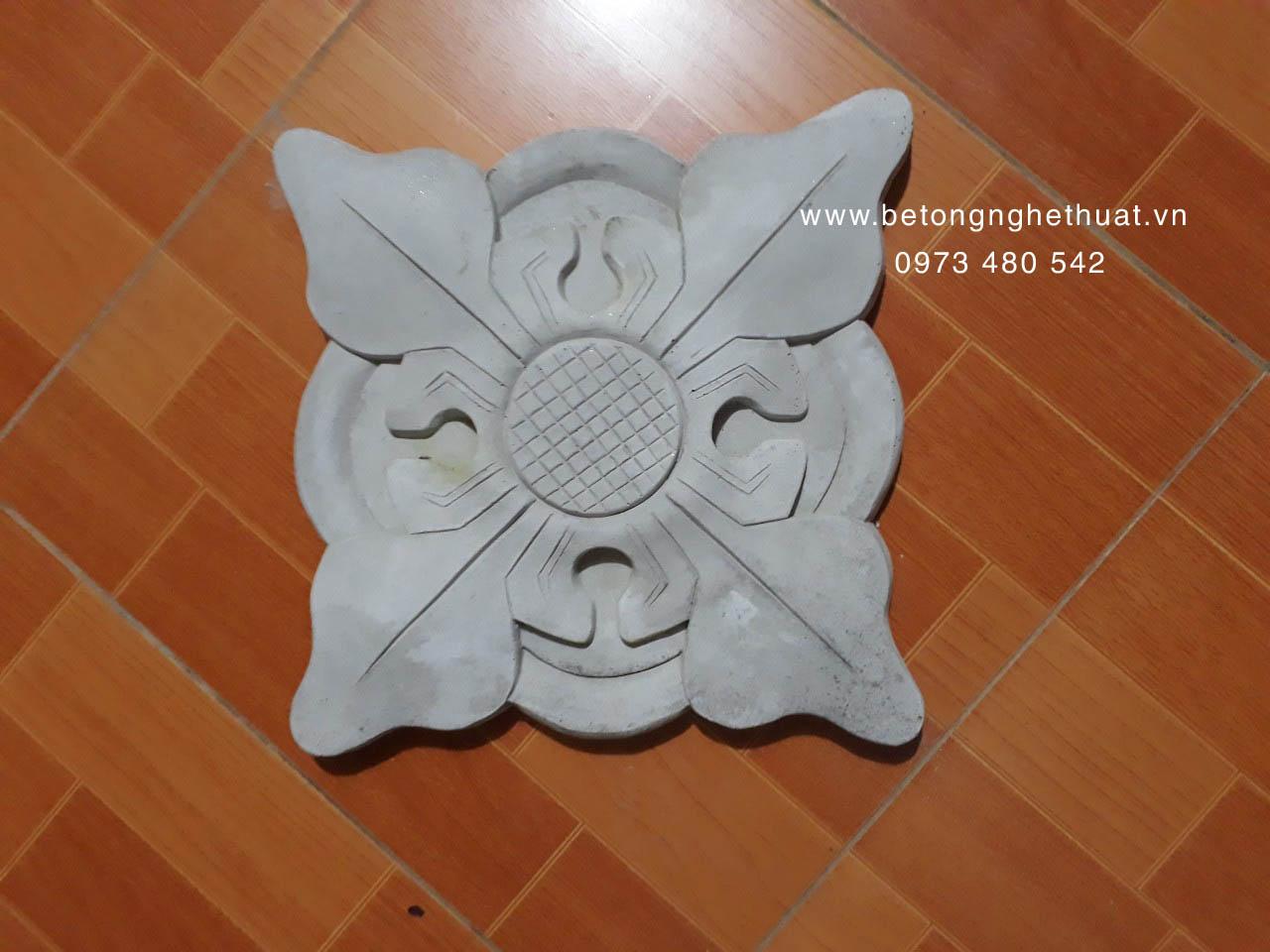 Hoa văn trang trí mặt tiền 35x35cm