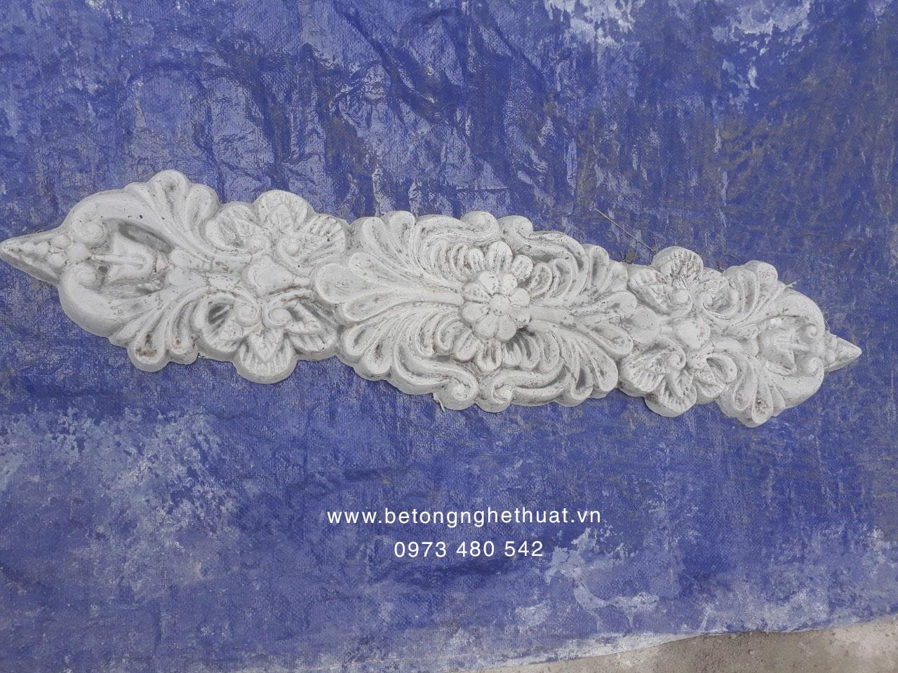 Hoa dây bê tông 20x96cm