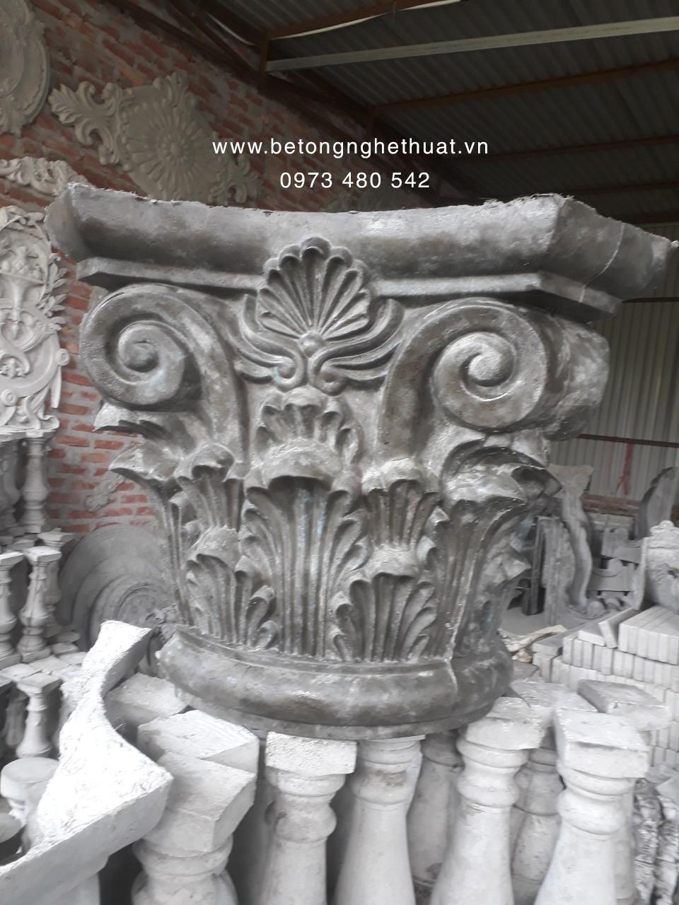 Tán cột tròn bê tông 45cm