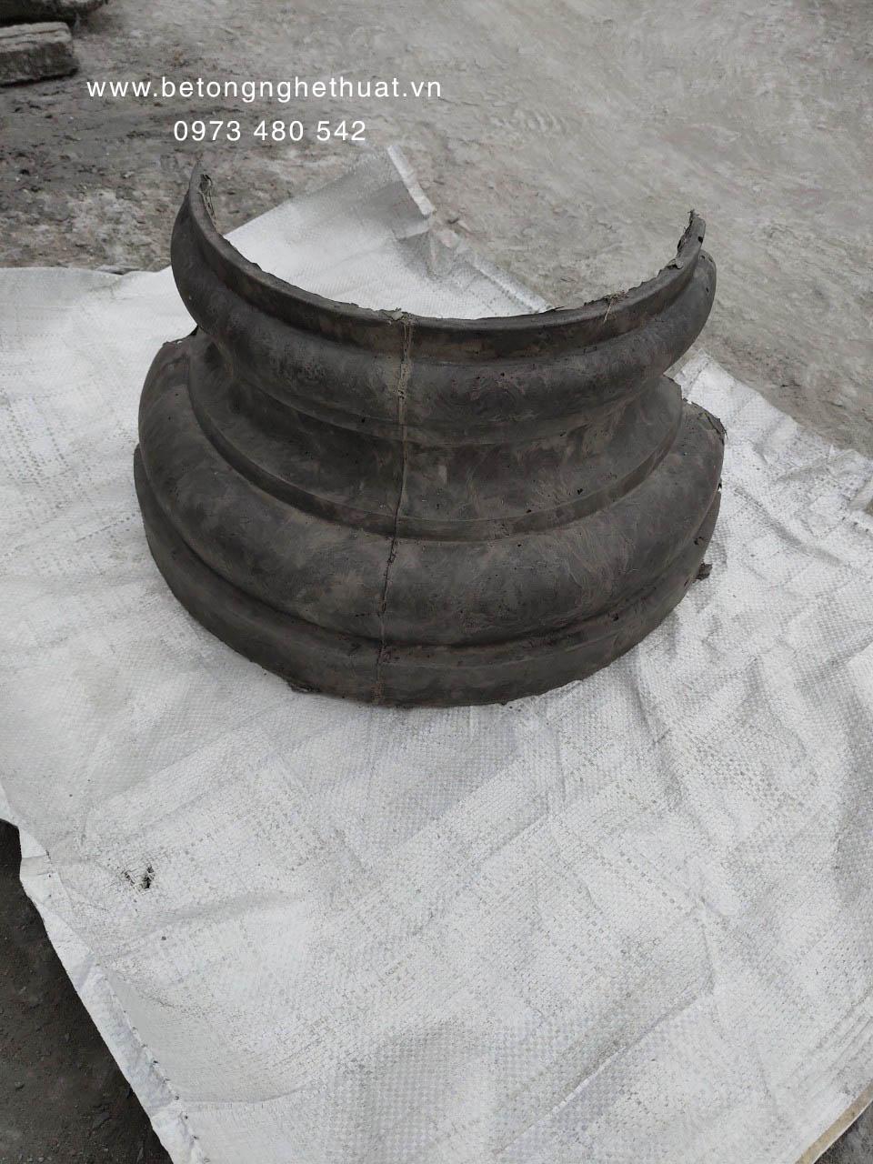 Chân cột bê tông tròn 35cm
