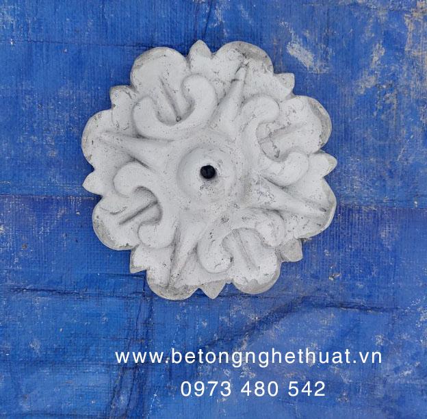 Hoa đán bê tông 15x15cm