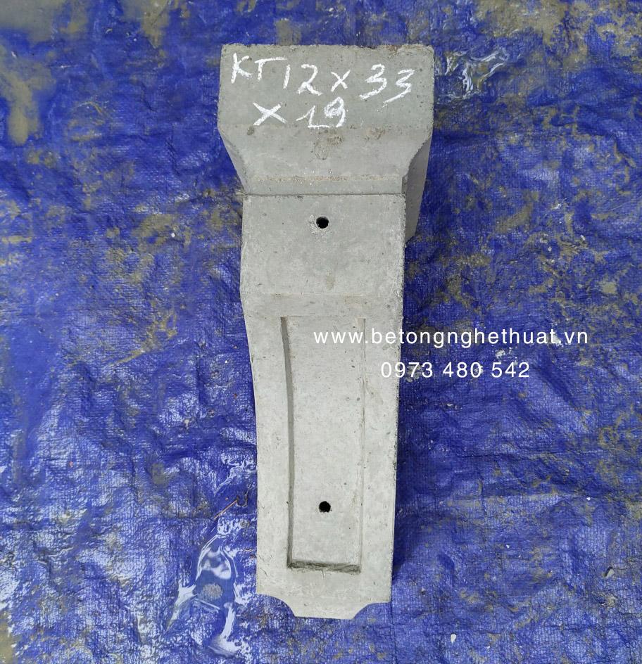 Con bọ bê tông 12x19x33cm