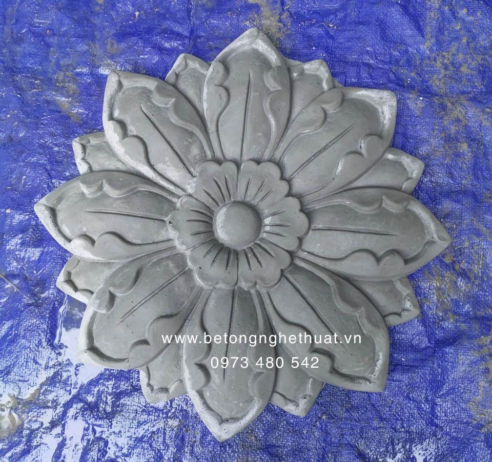 Hoa hướng dương bê tông 41x41cm