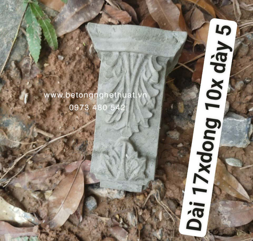 Con bọ bê tông 10x5x17cm