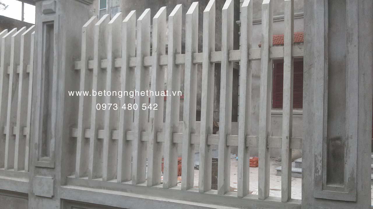 Hàng rào bê tông 1m3