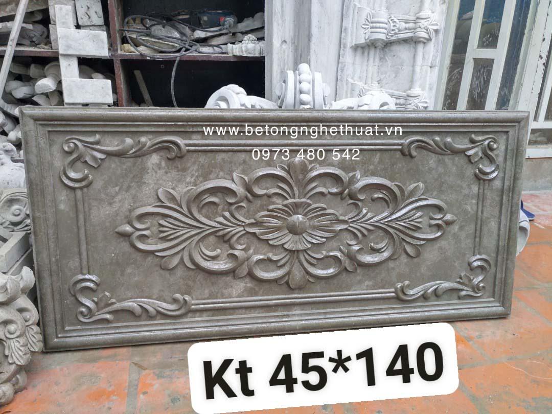 Tranh điêu khắc bê tông 45x140cm