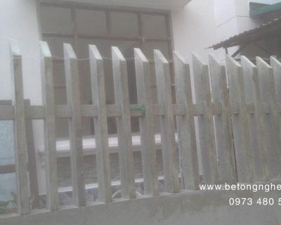 Hàng rào bê tông cao 92cm